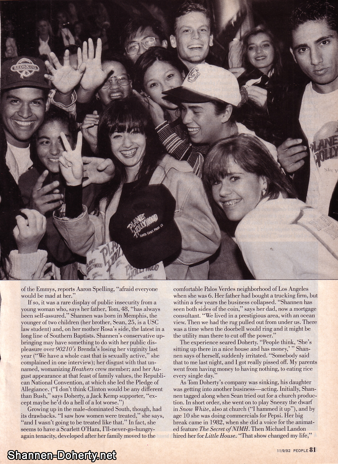 People Magazine 9th 1992